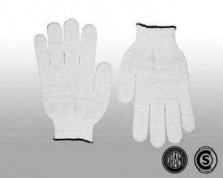Guantes algodon tejido